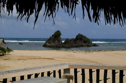 A view of the famous Puraran beach in Catanduanes. Surfers come in the island especially during rainy season from June to October when the waves are big to experience surfing in Bicol region's famous surfing haven.