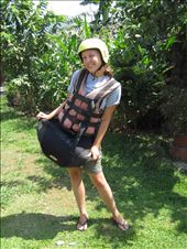 Learke posing with here 'skirt': by buhoo, Views[241]