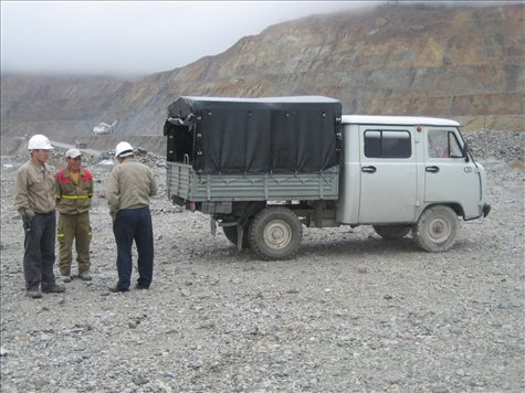 Russian built work utes. Rough AND tough