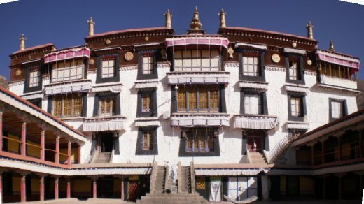 Part of Sera (pronounced Sarah) Monastery. Once home to 7700 monks but nowadays down to a few hundred