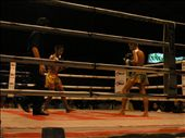Thai boxing in Hua Hin. 5 fights that night, 40kg to 80kg. One knockout in 50 kg class, not messing around at all: by bundynbeaches, Views[646]