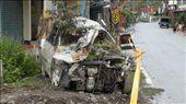 A car in Nansalu wrecked in the mudslide: by bundynbeaches, Views[200]