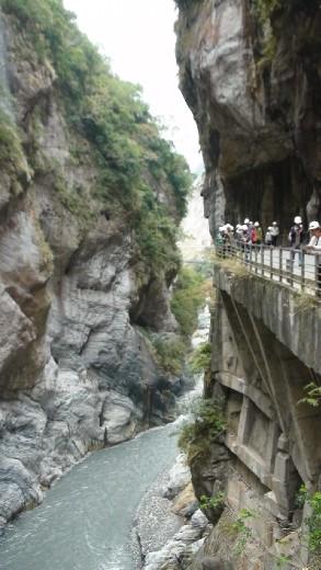 Taroko Gorge at Swallow Grotto