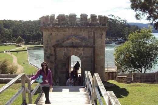 Port Arthur's main watch tower