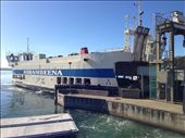 The Bruny Island / Kettering ferry. Very busy little operation over Easter!: by bundynbeaches, Views[275]