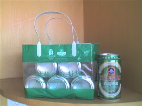 Gotta love this ... six pack of Tsingtao (ching dow)