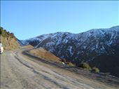 The road up to Mt Hutt. Carved into the side of the range, very narrow, very scenic: by bundynbeaches, Views[1505]