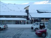 4 PM. The car park at Mt Hutt and still icy: by bundynbeaches, Views[495]