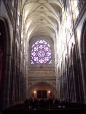 inside St Vitus Cathedral: by burrellian, Views[285]