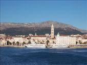 Split from the ferry, on my way to Hvar.: by burrellian, Views[492]