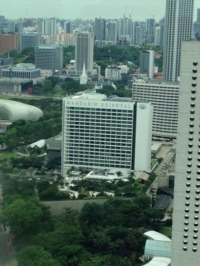 Buildings & greenery
