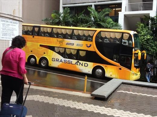 A 'super nice' bus