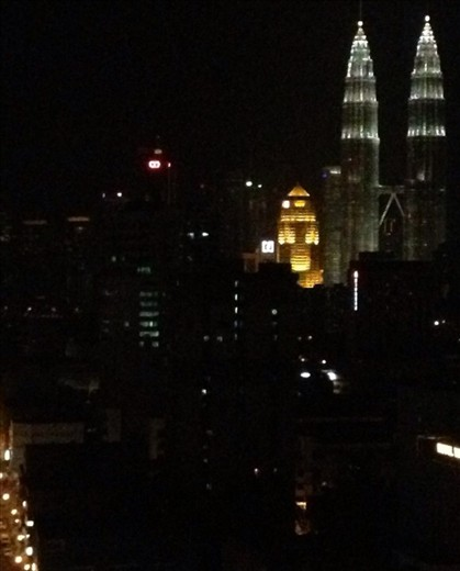 KL night skies make some areas a no go
