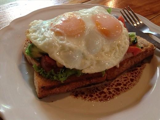 Breakfast at Om Garden