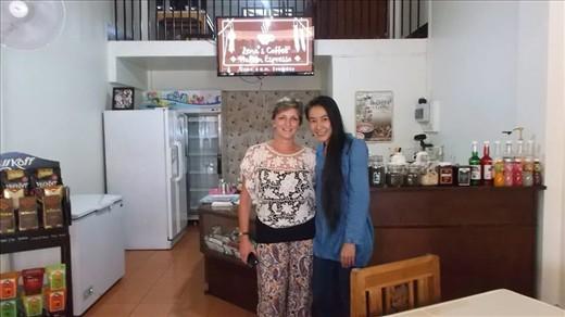 Lena & I @ Lena's Coffee in Chiang Mai