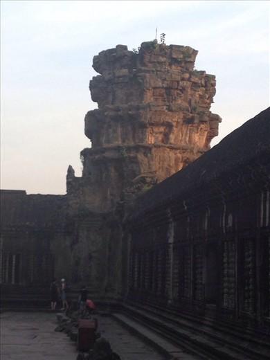 Corner of inner temple