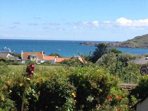 Alderney - harbour view