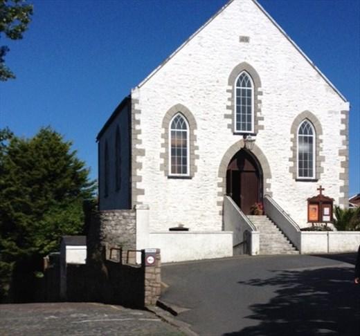 Alderney church