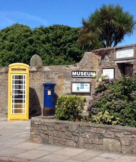 Alderney museum entrance