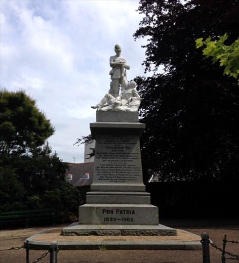 Boer War tribute