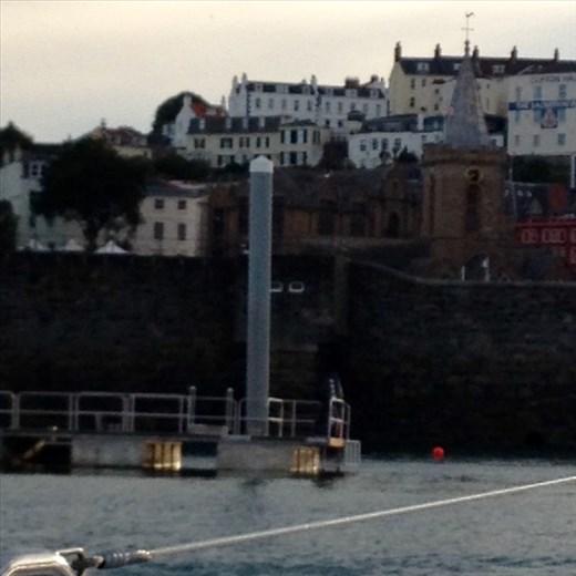 Guernsey arrival