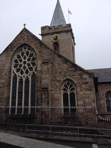 St Peter Port church