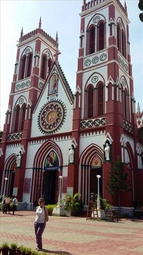 Le Sacre Coeur Basilica, Pondy