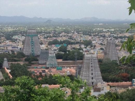 View of Tiruvannamalai