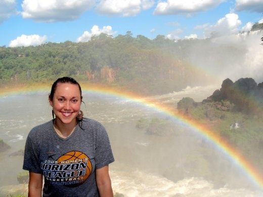 It could not have been more beautiful! Iguazu Falls, Argentina :)