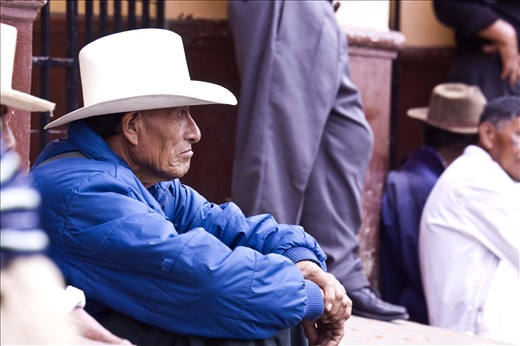 Even amongst older generations, men tend to follow a foreign cowboy style.