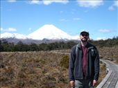 First walk in Tongariro. Nice skies, plus bloody great volcano.: by candjmcshane, Views[234]