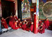 The novice monks.: by candletree, Views[283]