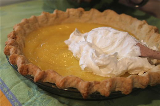 assembling the pie