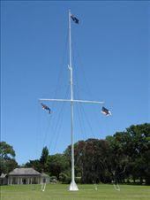 Waitangi Flag and House: by carla_and_dean, Views[152]