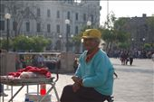 Elders who don't receive pensions or financial aid from their families usually end up on the street. Some sell candies and sodas at Lima's two main plazas. If elders must be on the street, this is probably the best place to earn a living.: by carlostello, Views[116]