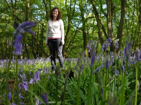 Mwa and the bluebells