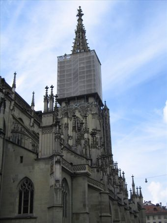 der Münster, auf den Turm sind wir später hochgestiegen