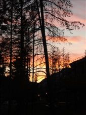 sunset view from the hostel in banff: by casey_hamilton, Views[270]