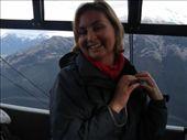 sam on the gondola to sulfur mountain: by casey_hamilton, Views[145]