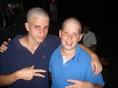 Dan and Potato after they shaved their heads. They look like Kemo patients: by casey_hamilton, Views[285]