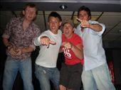 Tom, Bryce, me and Dale dancin to