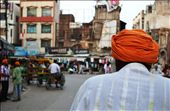 58 year old Ismail, one of over 8 million of India's cycle rickshaw drivers, peddles through the district of Amritsar, a city in Punjab;  the north-western state of India. Many pilgrims and tourists alike flock to Amritsar's Golden Temple shrine, the cultural and spiritual centre for the Sikh religion, and which attracts more visitors annually than Agra's Taj Mahal.: by caseycogger, Views[280]