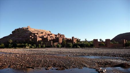Sunrise at Ait Benhaddou