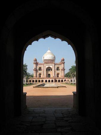 Cool Mausoleum, Delhi