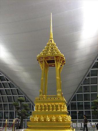 Golden Wat, Bankok Airport