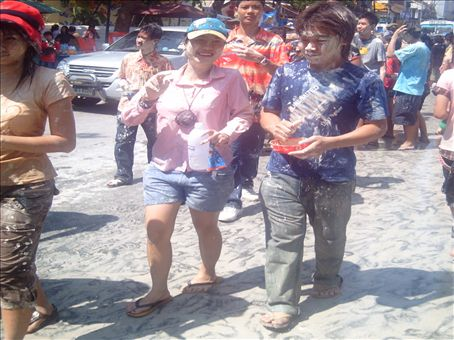 Wet and muddy, the madness of Songkran