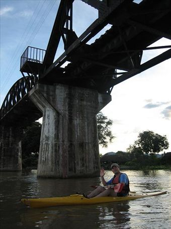 Under the Bridge...on the River Kwai!