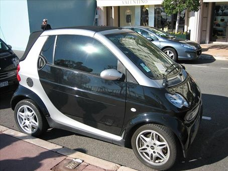 These cute wee Smart cars are everywhere!