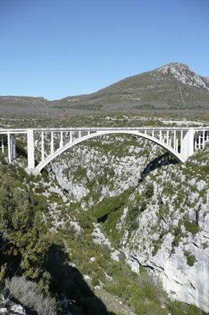 Highest bridge in Europe - don't look down!