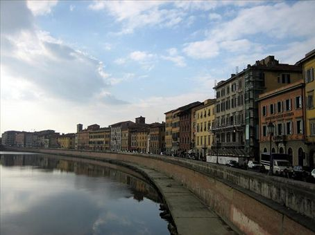 The river at Pisa